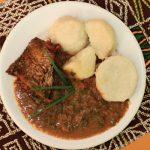 Receita de prato típico do Congo
