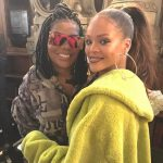 """Ludmilla encontra Rihanna em Paris e se declara: """"É muita luz"""""""
