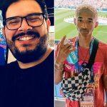 Após ser acusado de racismo, Rodrigo Fernandes reaparece no programa Eliana