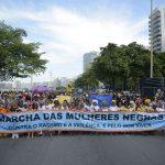 Manifestação pede fim da violência contra mulheres negras no Rio