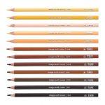 TRIS desenvolve caixa de lápis de cor com 12 tons de pele