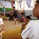 Capoeira para crianças