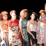 Desfile do Projeto Talentos Black Moda Afro