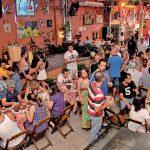 Bar com samba em São Paulo