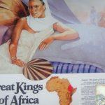 OBRAS DE ARTE INSPIRADAS NOS GRANDES REIS AFRICANOS