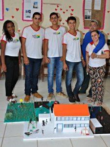 Alunos estudam raízes culturais do trabalho negro no Brasil (Foto: Divulgação/Escola Belo Porvir)