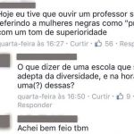 Alunos denunciam professores da FGV por declarações racistas e machistas