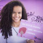 Escola faz 'Festival Cabelos Lindos' para combater bullying em sala de aula