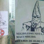 Advogado negro é alvo de ataques racistas com símbolo da Ku Klux Klan