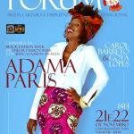 Adama Paris, criadora da Black Fashion Week Paris, chega a Salvador para falar sobre moda Africana