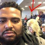 Homem responde a racismo em fila de aeroporto e recebe aplausos