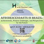 Universidade de Harvard recebe evento sobre racismo e movimentos negros no Brasil