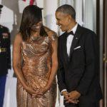 Barack e Michelle Obama são flagrados dançando em show de Jay-Z e Beyoncé