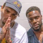 """Kevin Hart elogia Chris Brown por seu desempenho ao vivo na turnê """"HBOAFM"""""""